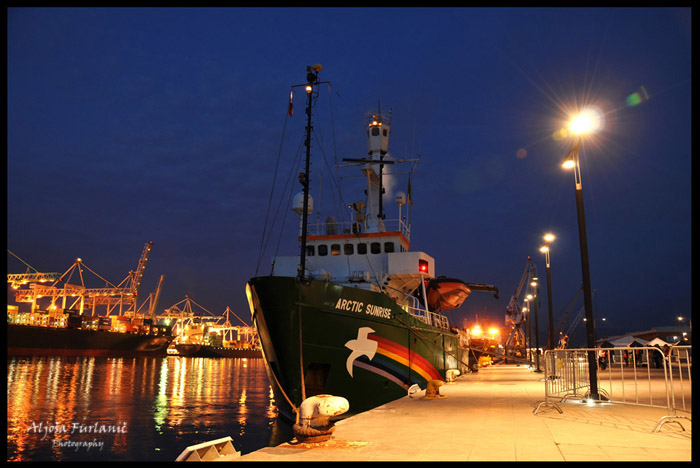 Greenpeace Arctic Sunrise